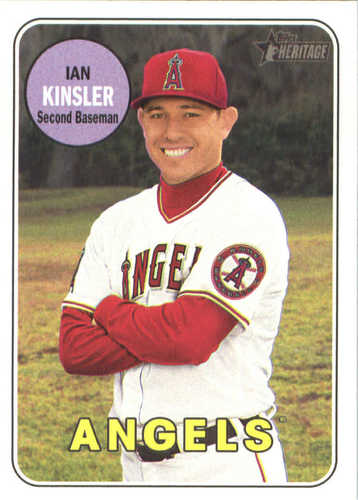 Photo of 2018 Topps Heritage #285 Ian Kinsler