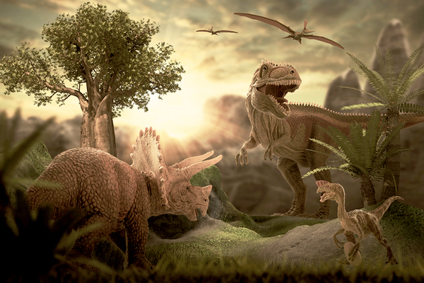 Clickable image to visit Walking With Dinosaurs - Manchester Arena