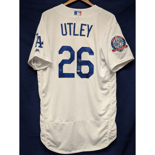 Photo of Kershaw's Challenge: Chase Utley Autographed Home Jersey