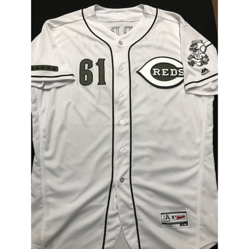 Photo of Gabby Guerrero - Game-Used - Military Appreciation Jersey (Worn 2018)