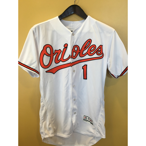 Photo of Tim Beckham - Home Jersey: Autographed
