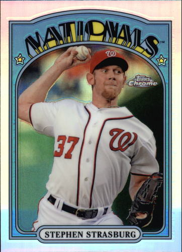 Photo of 2013 Topps Chrome 1972 Chrome #72CSS Stephen Strasburg