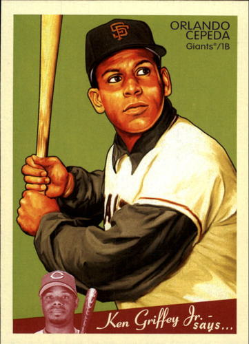 Photo of 2008 Upper Deck Goudey #162 Orlando Cepeda