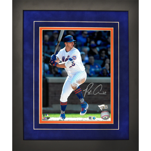 Photo of Pete Alonso - Autographed 8x10 Framed Photo