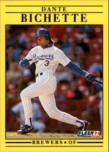 Photo of 1991 Fleer Update #29 Dante Bichette