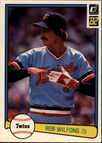 Photo of 1982 Donruss #130 Rob Wilfong