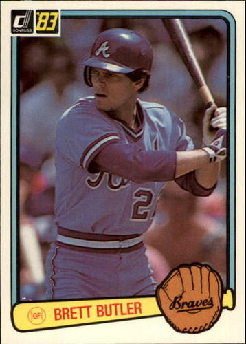 Photo of 1983 Donruss #636 Brett Butler
