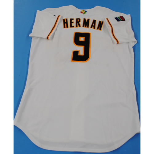 Photo of Game-Used Jersey - 2006 World Baseball Classic - Warren Herman - South Africa