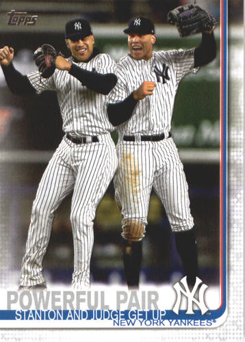 Photo of 2019 Topps #444 Powerful Pair/Aaron Judge/Giancarlo Stanton