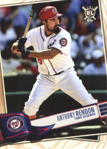 Photo of 2019 Topps Big League #241 Anthony Rendon
