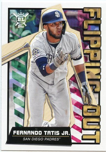 Photo of 2020 Topps Big League Flipping Out #FO9 Fernando Tatis Jr.