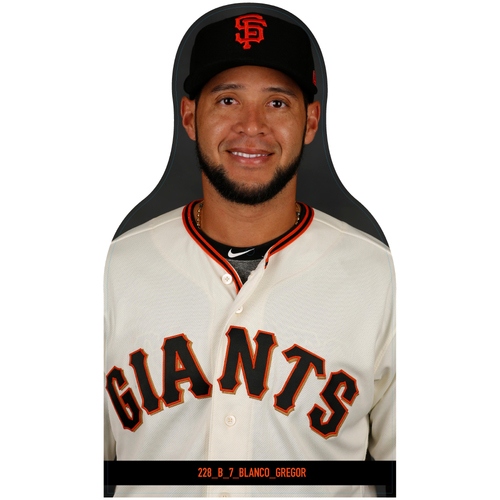 Photo of Giants Community Fund: Giants Gregor Blanco Cutout