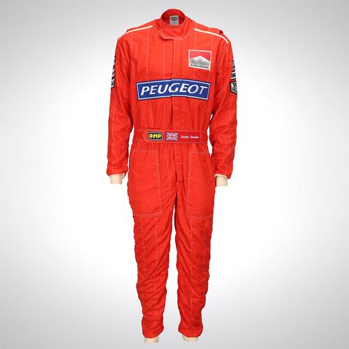 Photo of Martin Brundle 1994 McLaren Peugeot Race-worn Race Suit