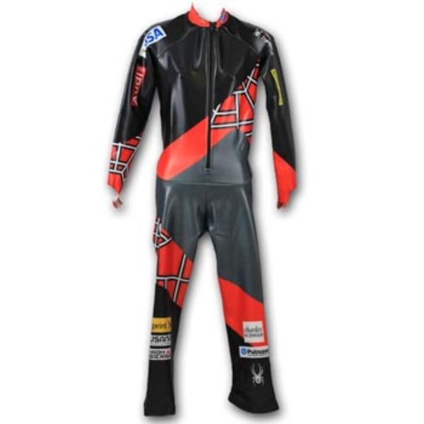 Photo of Official 2013-2014 U.S. Ski Team Spyder Men's Downhill Race Suit (Size Large) 1 of 5