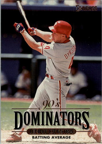 Photo of 1994 Donruss Dominators Jumbos #B9 Len Dykstra