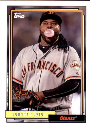 Photo of 2017 Topps Archives #245 Johnny Cueto