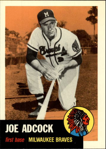 Photo of 1991 Topps Archives 1953 #285 Joe Adcock