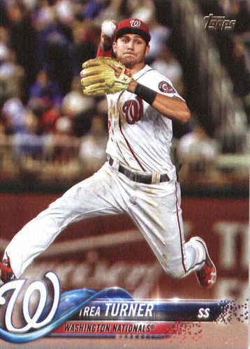 Photo of 2018 Topps #44 Trea Turner