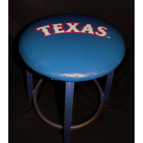 Photo of Texas Rangers Game-Used On-Field Stool