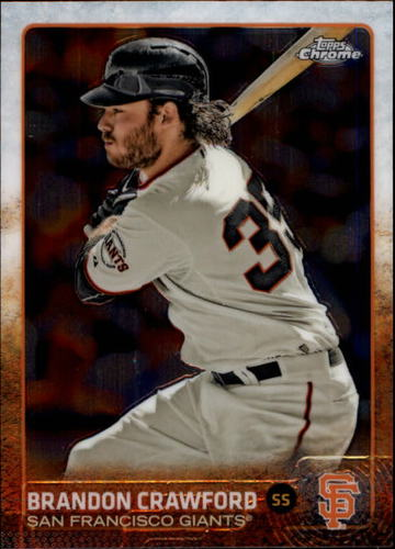 Photo of 2015 Topps Chrome #111 Brandon Crawford