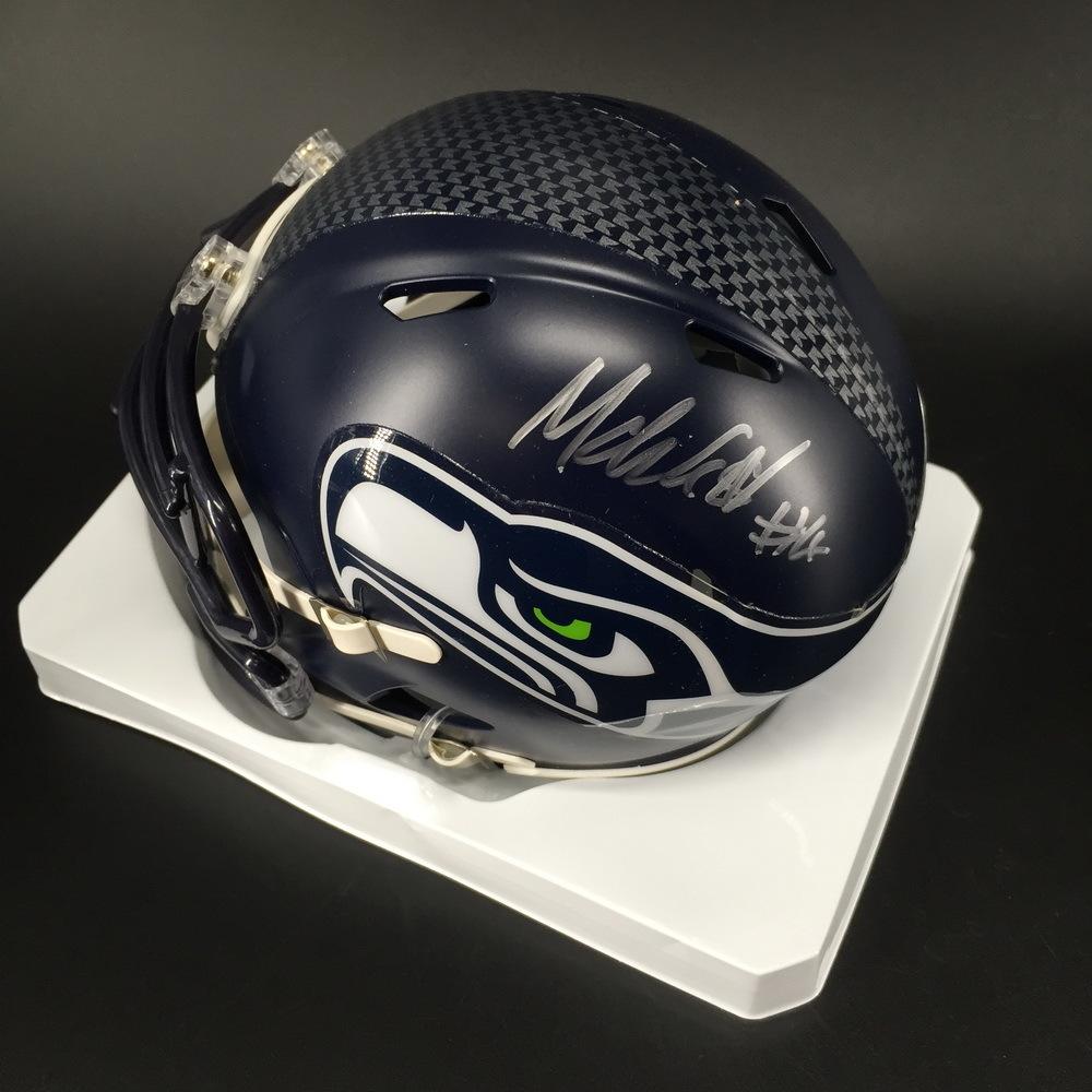 NFL - Seahawks Michael Dickson Signed Mini Helmet
