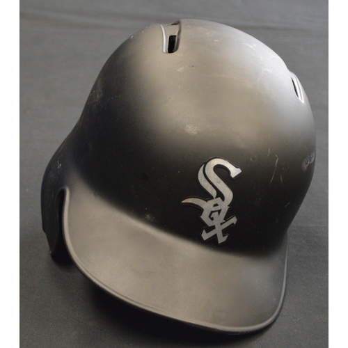 "Photo of Leury ""Leo"" Garcia Chicago White Sox Game-Used 2019 Players' Weekend Helmet"