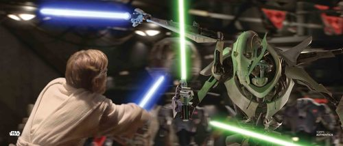 Obi-Wan Kenobi and General Grievous