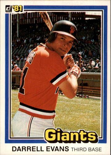 Photo of 1981 Donruss #192 Darrell Evans