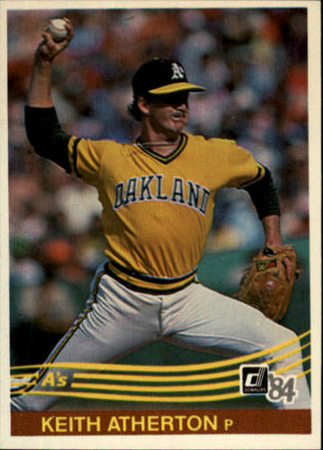 Photo of 1984 Donruss #497 Keith Atherton