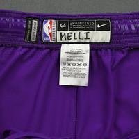 Nicolo Melli - 2020 NBA Rising Stars - Team World - Game-Worn 1st Half Shorts