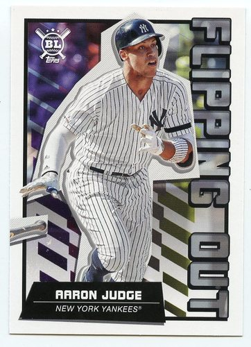 Photo of 2020 Topps Big League Flipping Out #FO11 Aaron Judge