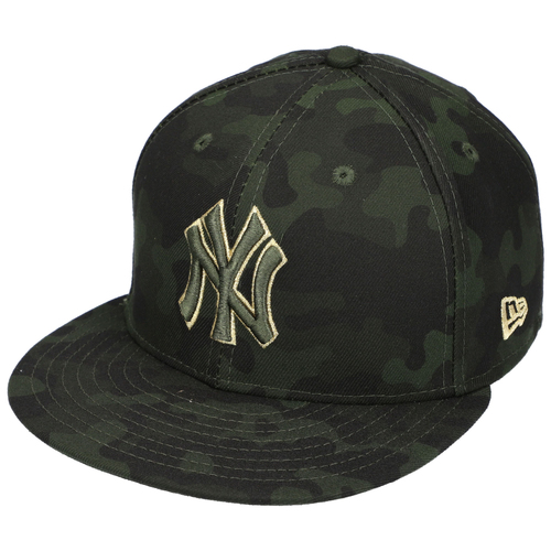 Photo of James Paxton New York Yankees Team-Issued #65 Camouflage Memorial Day Cap vs. Tampa Bay Rays on May 19, 2019 - Size 7 1/8