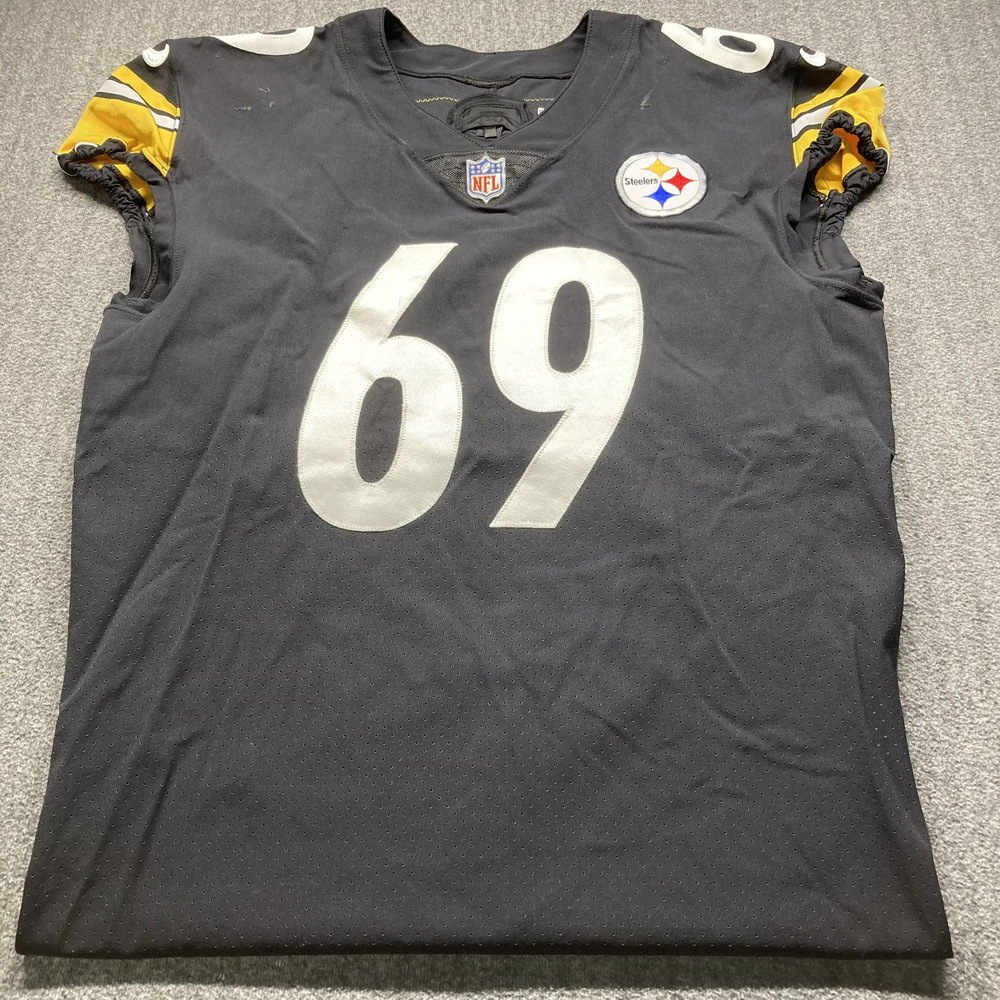 Crucial Catch - Steelers Kevin Dotson Game Used Jersey (10/11/20) Size 48