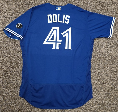 Photo of Authenticated Team Issued Jersey: #41 Rafael Dolis (2020 Season). Set 2. Size 50.