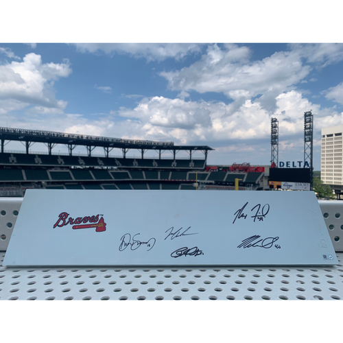 Photo of 2021 Starting Pitchers MLB Authenticated Autographed Pitching Rubber