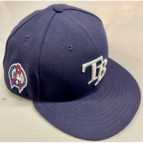 Photo of Game Used Cap: Jake Faria - September 11, 2018 v CLE