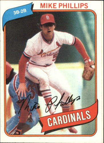 Photo of 1980 Topps #439 Mike Phillips
