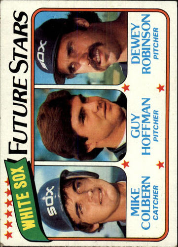Photo of 1980 Topps #664 Mike Colbern/Guy Hoffman RC/Dewey Robinson RC