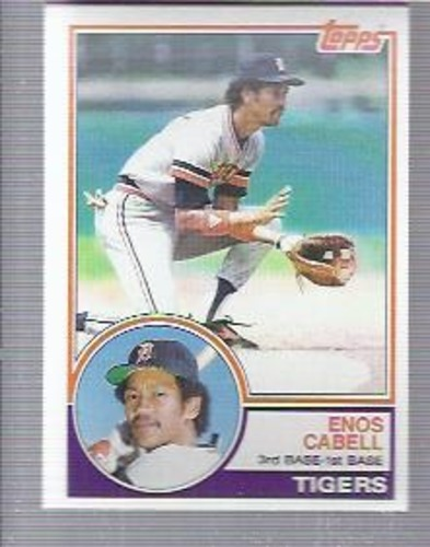 Photo of 1983 Topps #225 Enos Cabell