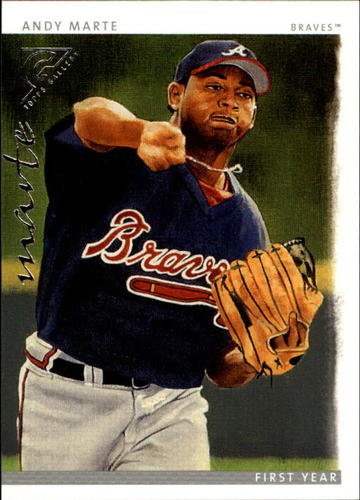 Photo of 2003 Topps Gallery #152 Andy Marte FY RC