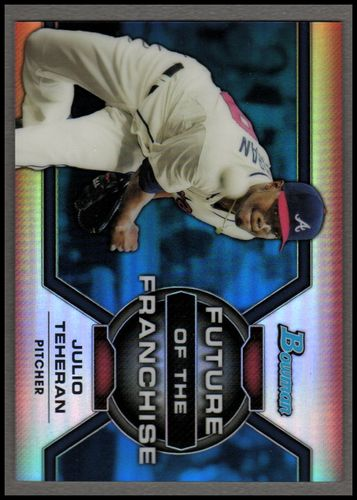Photo of 2013 Bowman Draft Future of the Franchise Blue #JT Julio Teheran