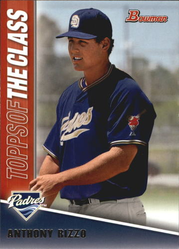 Photo of 2011 Bowman Topps of the Class #TC20 Anthony Rizzo