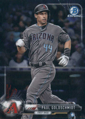 Photo of 2017 Bowman Chrome #3 Paul Goldschmidt