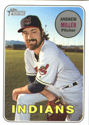 Photo of 2018 Topps Heritage #287 Andrew Miller