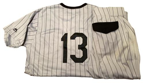 Photo of Tyler Saladino Game-Used Milwaukee Bears Jersey and Pants - 2 for 4, Run Scored