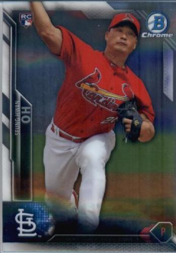 Photo of 2016 Bowman Chrome #15 Seung-Hwan Oh RC