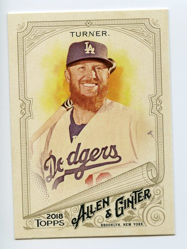 Photo of 2018 Topps Allen and Ginter #302 Justin Turner SP