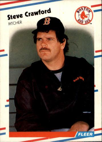 Photo of 1988 Fleer #350 Steve Crawford