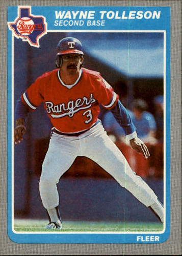 Photo of 1985 Fleer #571 Wayne Tolleson