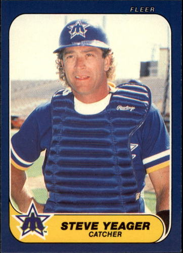 Photo of 1986 Fleer Update #131 Steve Yeager